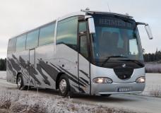1999 Scania Irizar levert kunde på Østlandet!